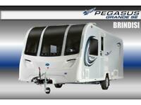 Bailey Pegasus Grande SE Brindisi, New 2021, 4 Berth, Touring Caravan