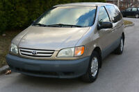 2002 Toyota Sienna CE 3L Camionnette