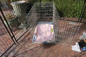Extra large metal crate