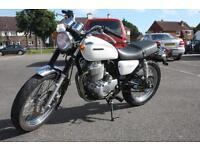 2008 HONDA CB400 SS NC41, WHITE, RARE JDM IMPORT CLASSIC MOTORCYCLE