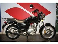 2016 16 SINNIS SC 125 BLACK, LOW MILEAGE!