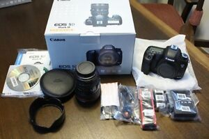 BRAND NEW Canon EOS 5D Mark III Body 24-105 24-105mm IS USM Lens