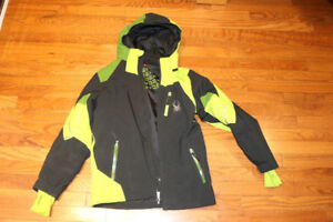 Spyder Winter Ski Jacket Boys Youth Size 16 / 14