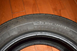 4 P185/60 R14 summer tires in excellent condition.