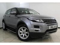 2012 12 LAND ROVER RANGE ROVER EVOQUE 2.2 SD4 PURE 5DR AUTOMATIC 190 BHP DIESEL