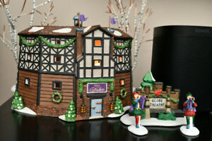 Department 56 Olde Globe Theatre - lighted display