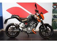 2013 13 KTM 125 DUKE 125CC DUKE 13 ORANGE
