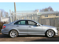 Mercedes-Benz C200 2.1TD 2008 Sport BARGAIN PRICED HIGH SPEC AMG EXTRAS