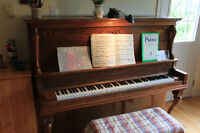 Piano Lessons - Cours de Piano