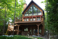 Ottawa Getaway Weekend luxury cabin perfect for couples/