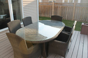 Outdoor Dining Table Set