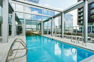 Upscale & furnished one bedroom at L'Avenue Condo