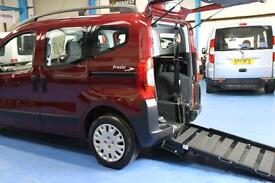 Peugeot Bipper Diesel Auto Wheelchair car mobility scooter accessible vehcile 12