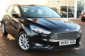 Used Ford Focus Titanium, 2015, 999cc, 5 door