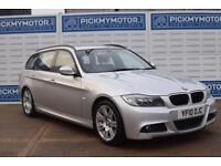 2010 10 BMW 3 SERIES 2.0 320D M SPORT TOURING 5D AUTO 181 BHP DIESEL