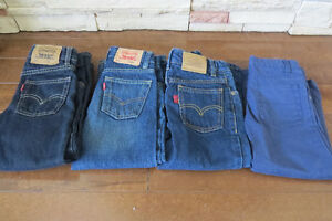Size 4 Levi Jeans and Carter's Cotton Pants