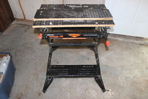 Lightly used Black and Decker Workmate