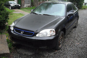 2000*Civic*SHELL;*BODY COMPLET;*POUR PROJET;*SWAP=500.00$