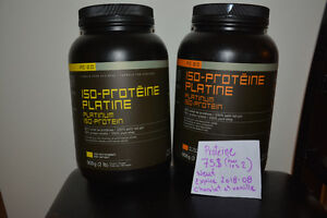 Proteine iso-platine nature (2lbs) (sport-exercice-sante) Saguenay Saguenay-Lac-Saint-Jean image 1