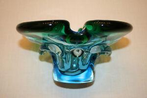 CHALET GLASS CENTER PIECE