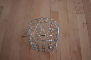Adult Chrome Ringette Cage.  Barely used.