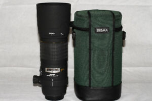 Sigma 180mm f/3.5 EX DG IF HSM APO Macro Lens for Canon