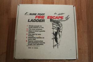LADDER - FIRE ESCAPE LADDER - $100 OR BEST OFFER