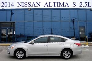 2014 Nissan Altima S 2.5L Off-Lease, One Owner, No Accident
