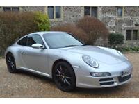 Porsche 911 3.8 ( 350bhp ) 4X4 Auto 2006 Carrera 4 S Tiptronic S, 71K MILES, FSH