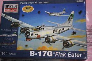 B-17G Flak Eater 1/144 Minicraft by Minicraft Models West Pennant Hills The Hills District Preview