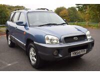 Hyundai Santa Fe 2.0 CRTD GSI (blue) 2004