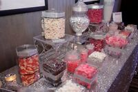 Cookie jars and candy buffet RENTALS