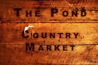 CHRISTMAS AT THE POND COUNTRY MARKET!
