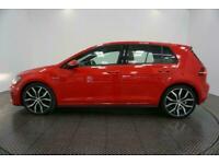 2016 RED VW GOLF 2.0 TDI 184 GTD DIESEL AUTO 5DR HATCH CAR FINANCE FR £217 PCM