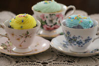 RENT VINTAGE TEACUPS FOR CHILDREN'S BIRTHDAY TEA PARTY!