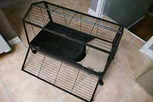 Oxbow Guinea pig/small pet cage with play yard Kitchener / Waterloo Kitchener Area image 1