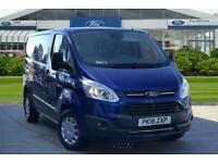2018 Ford Transit Custom 2.0 TDCi 130ps Low Roof Trend Van Panel Van Diesel Manu