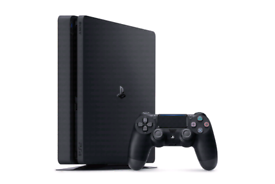 PS4 slim 500gb + 10 games