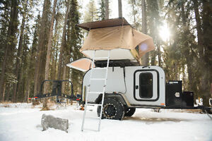Custom build off Road expedition trailers