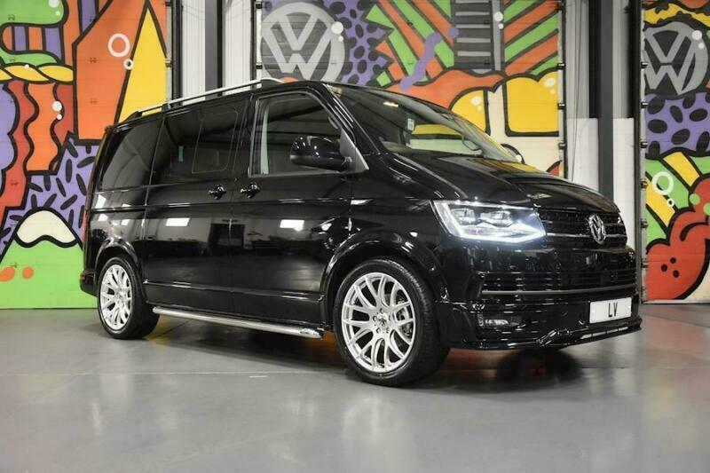 1d88419f15 VW TRANSPORTER T6 T30 SWB 2.0TDI 150PS DSG HIGHLINE KOMBI SPORTLINE PACK  BLACK