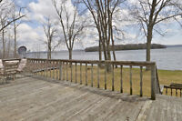 RICE LAKE WATERFRONT HOME FOR SALE!