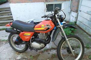 1979 honda xl 500