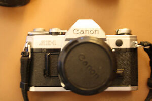 Canon AE1 & Accessories
