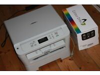 Brother DCP-7055 Black and White Printer, Scanner, Copier