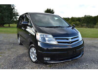 FRESH IMPORT FACE LIFT 07 PLATE TOYOTA ALPHARD 2.4 HYBRID PETROL/ELECTRIC PRIUS