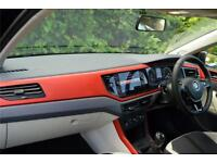 2018 Volkswagen Polo Beats 1.0 TSI 95PS 5-speed Manual 5 Door Petrol black Manua