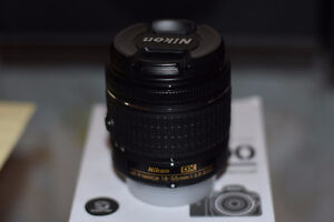 18-55mm Nikkor lens for Nikon with Warranty, save $230+
