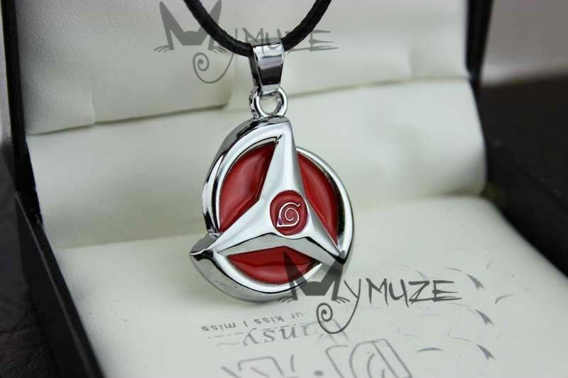 Naruto Kakashi Hatake Sharingan Sya Rin Gan Pendant Necklace Perfect Gift