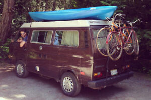 Live the Hippie Dream! Rent our VW Westfalia Campervan