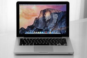 MacBook pro fin 2011 os x el capitan,10go de memoire 500 disque